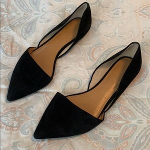Women's jcrew 10.5 black flats